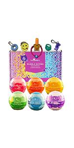 Girls  Bubble Bath Bombs Gift Set