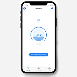 Bluetooth Hands Free Thermometer