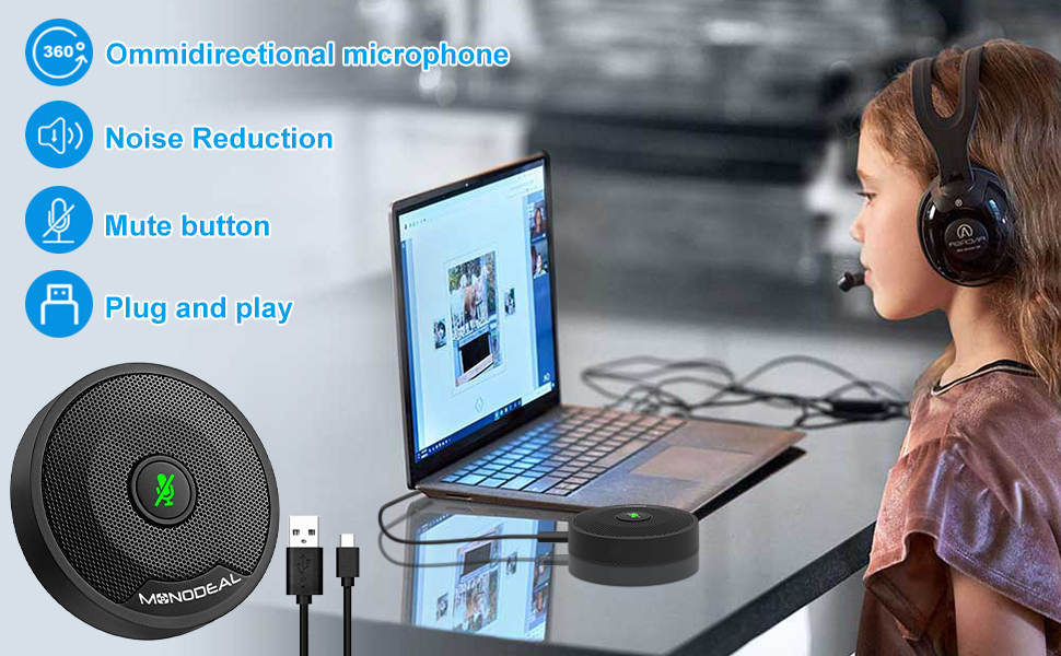 USB Conference Microphone microphone for pc conference microphone for laptop usb zoom