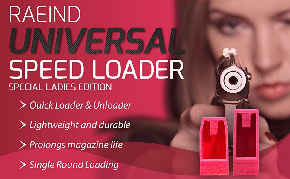 RAEIND Special Ladies sold out Edition Universal Loader Speed ...