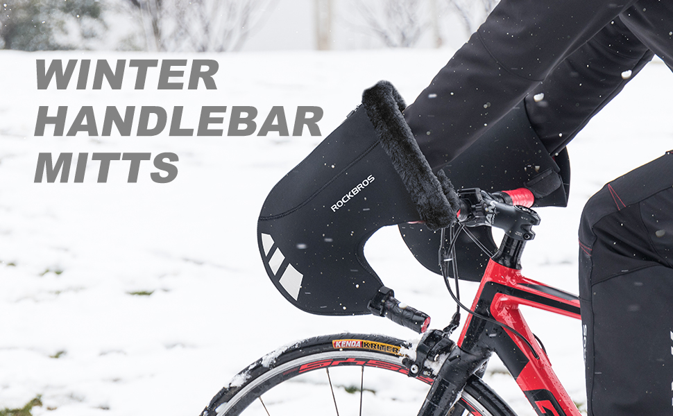 Road Bicycle Bar Mittens