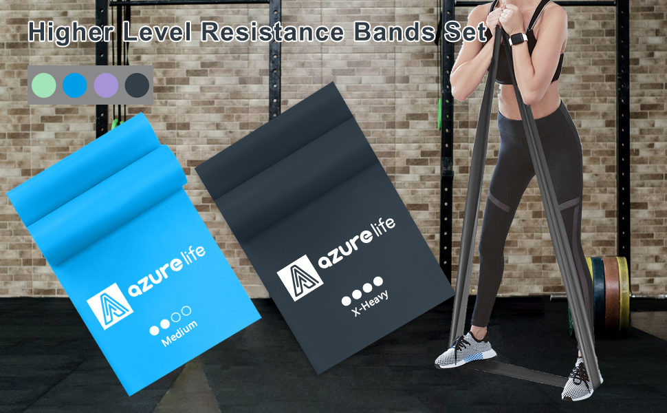 2 EXERCISE BANDS