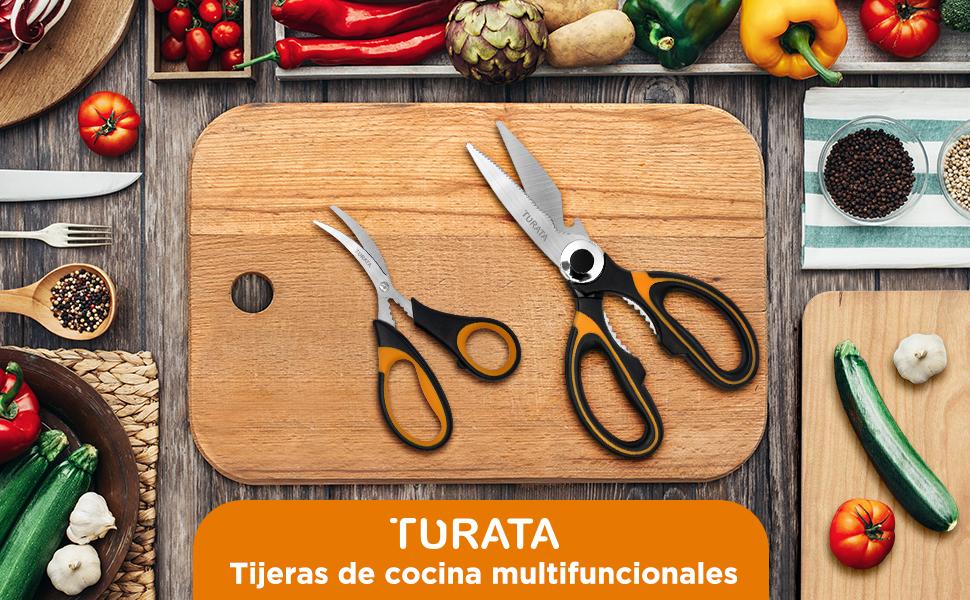 Tijeras de cocina multifuncionales