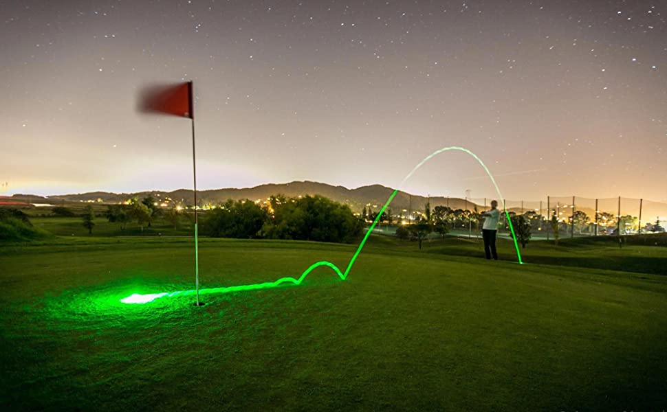Glow V1 is the best night golf ball on the market and very simple. Flash it, Glow it, Play It.