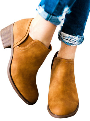 BROWN SHOES WITH JEANS