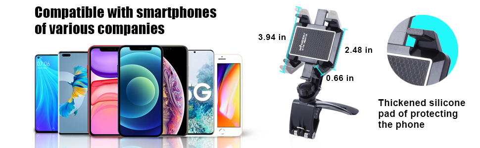 Compatible with all mobile phones