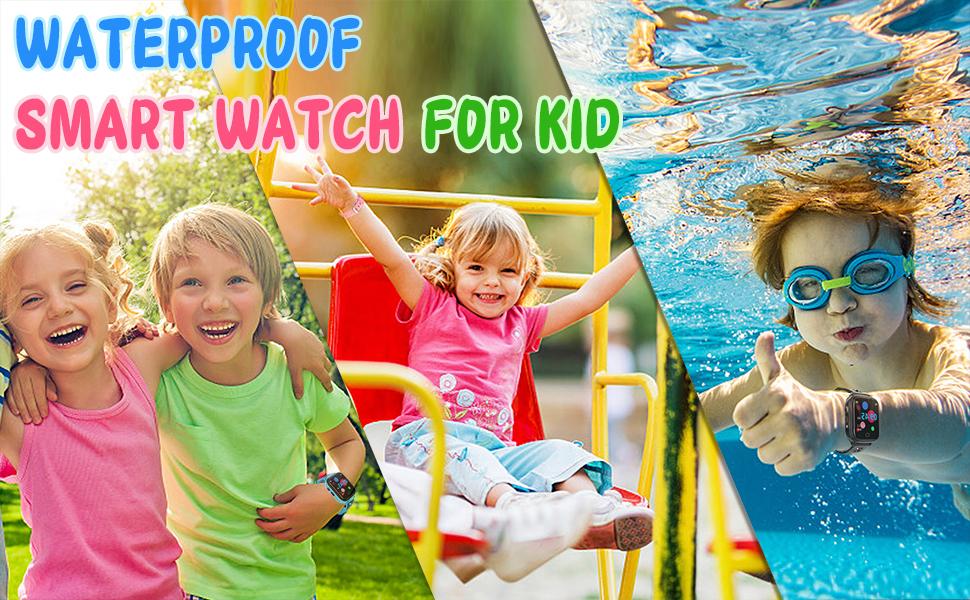 waterproof smart watch for kids