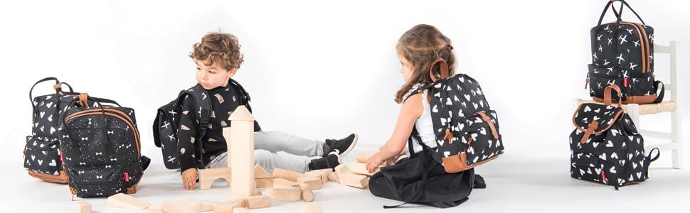 Arm/ée Verte Kidzroom Valise /à Dos pour Enfants