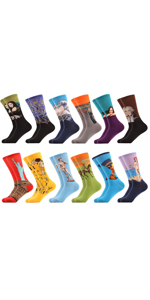 funny casual novlety socks cotton colorful dress socks fancy office cool