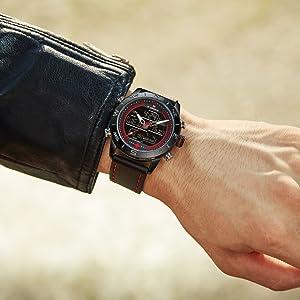 Digital Watches for Men Waterproof