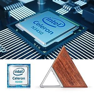 Windows 10 Pro Micro Desktop Computer, Intel Apollo lake Celeron N3450 Quad-core CPU