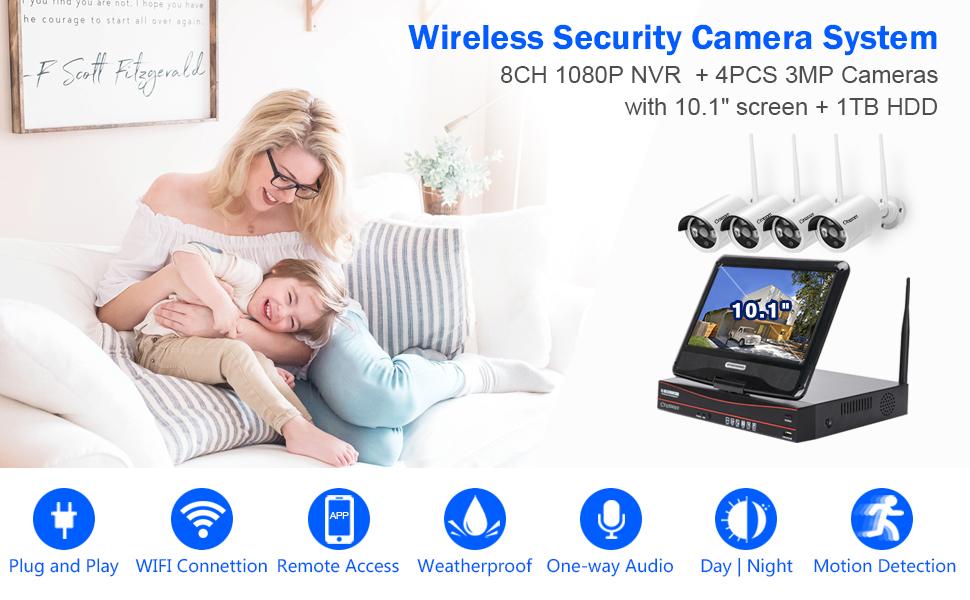 wireless surveillance camera systems