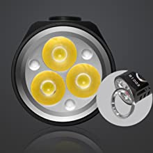 3 CREE LED