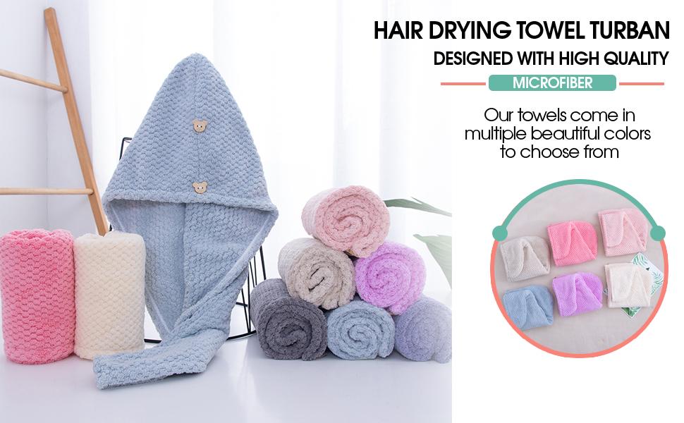 hair towel wrap for curly hair anti frizz towel curly hair drying towel fast hair drying towel