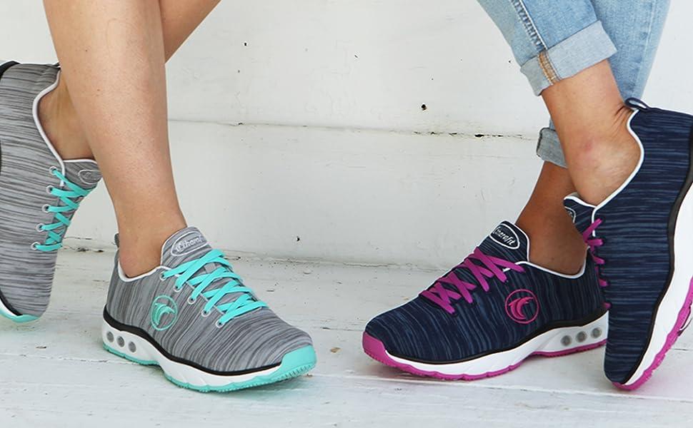 Therafit Paloma Lite arch support women's sneaker plantar fasciitis