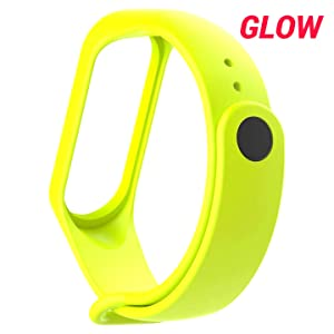 Glow in dark mi band 4 strap