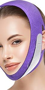 Face Slimming Strap-Purple
