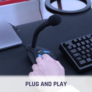 microphone usb, micro gamer, micro pour pc, micro ps4