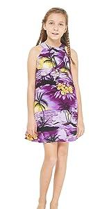 Girl Hawaiian Dress