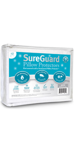 pillow protectors zippered standard