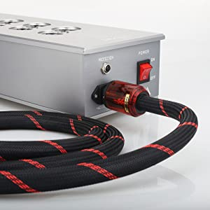 hi end power cord 250v ac power cord c13 pc power cable power supply cord electrical cords audio