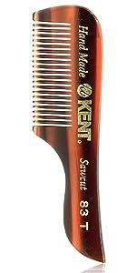 Kent 83T Mustache Comb
