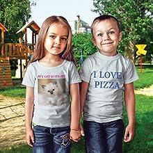 Camiseta para niños, camiseta para niños, niño, regalo, cumpleaños, regalo personalizado