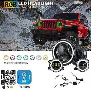 Fits Jeep Wrangler CJ YJ TJ LJ JK JL  Lights Fog  15207.58
