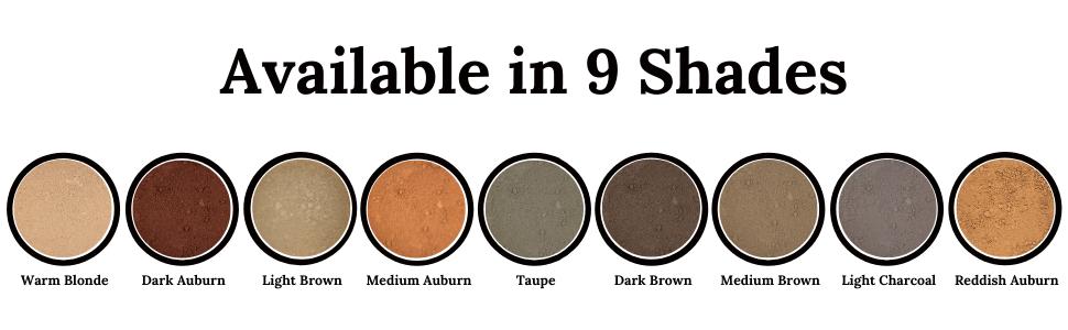 9 shades