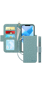 Handmade Flip Folio Wallet Case