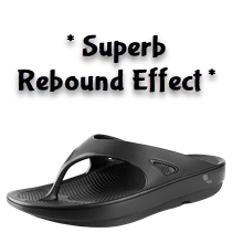 recovery shoe flip flop flipflops arch support plantar fasciitis foot pain orthotics skechers dawgs