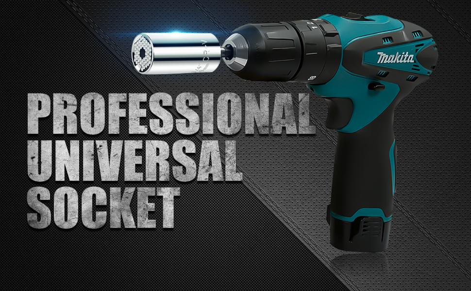 2 pack universal socket