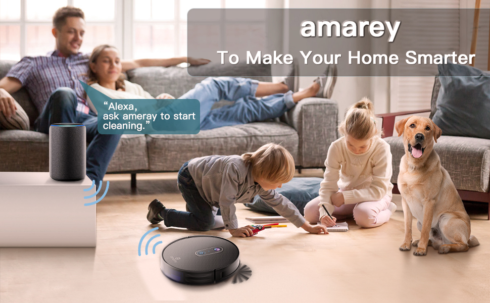 Amazon Com Robot Vacuum 3 In 1 Filter System With 1600pa