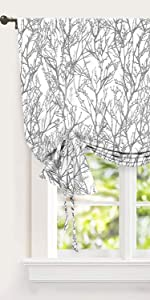 tree branch gray kitchen tie up