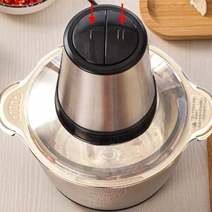 food choppers and electric chef hand pull metal blades