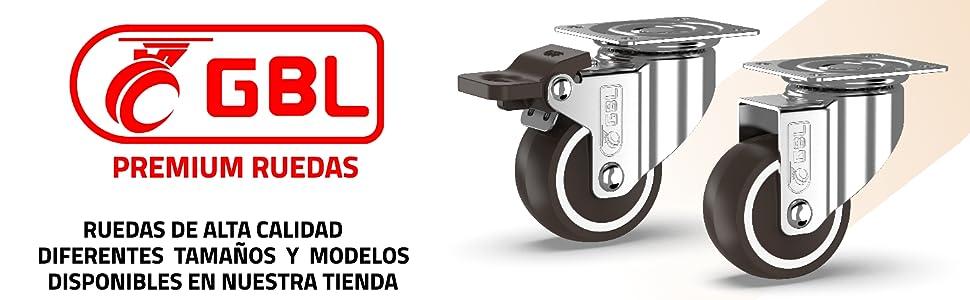 ruedas para muebles