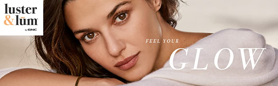 luster&lum by GNC feel your glow