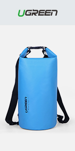 UGREEN Dry Bag Rucksack Waterproof Pouch Stuff Sack Dry Pouch