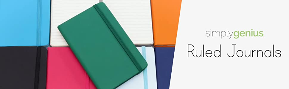 Ruled handheld journals and notebook paper for writing work small journal notes diary