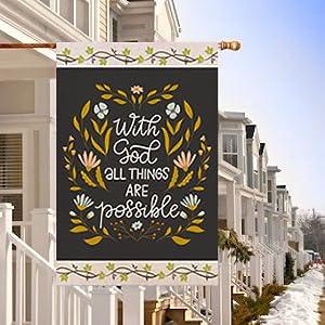 with god house flag