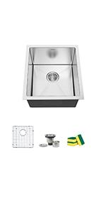 17'' kitchen sink