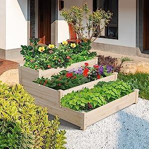 elevated garden bed