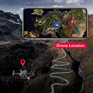 easy to find the lost drone