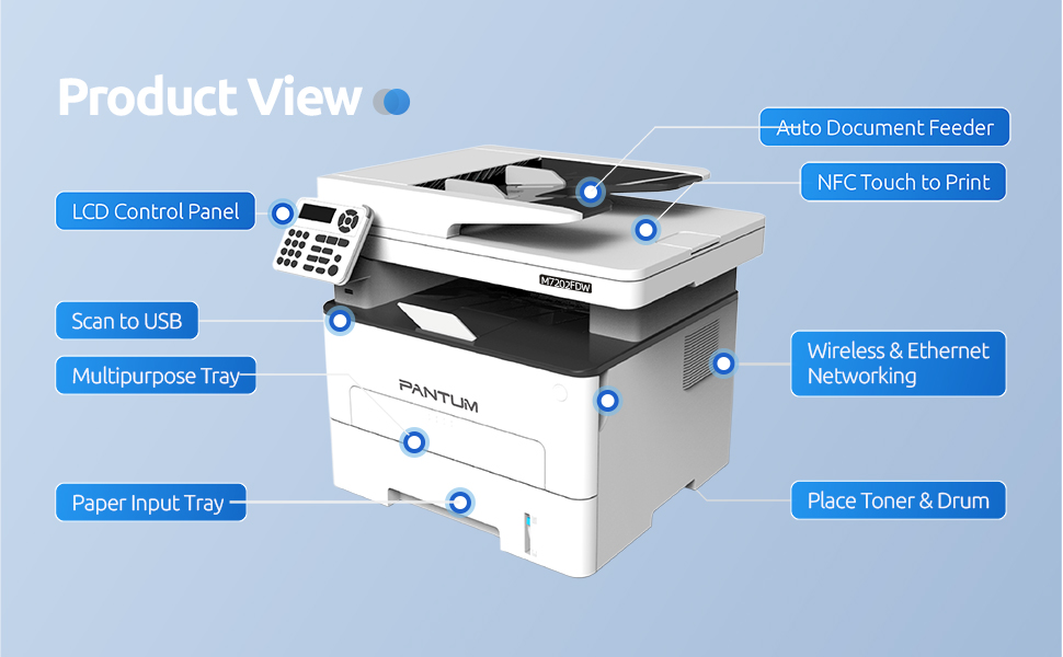 L2710FDW Product View