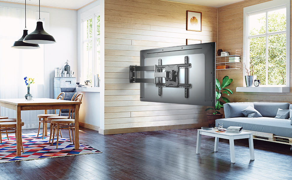 ONKRON Soporte Universal de pared giratorio para TV curvado ...