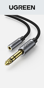 Câble Jack 6.35mm 3.5mm