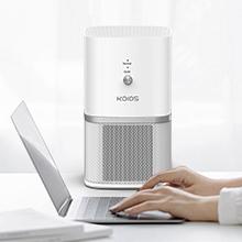 protable desktop air purifier