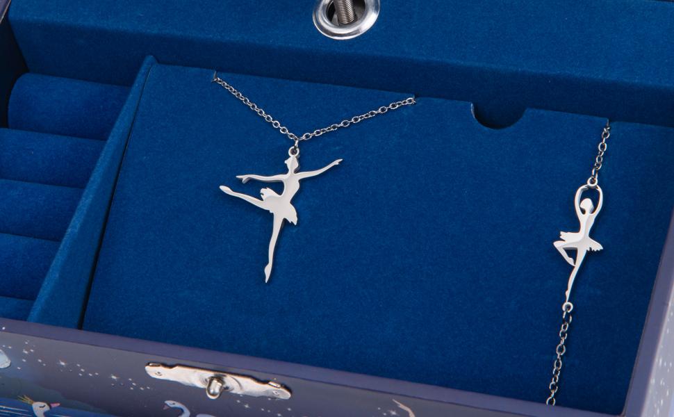 birthday gifts for girls, musical jewelry box, ballerina gift, dancer, gift for girls age 3,4,5,6,7