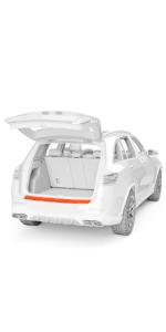 AUTO Pellicola Protezione Vernice Pellicola pietrisco Pellicola Protettiva Set Trasparente Folienset auto