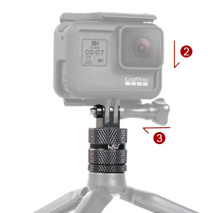 360 Degree Rotation Tripod Adapter
